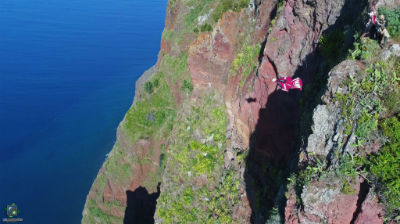 Base Jump Event no Porto da Cruz