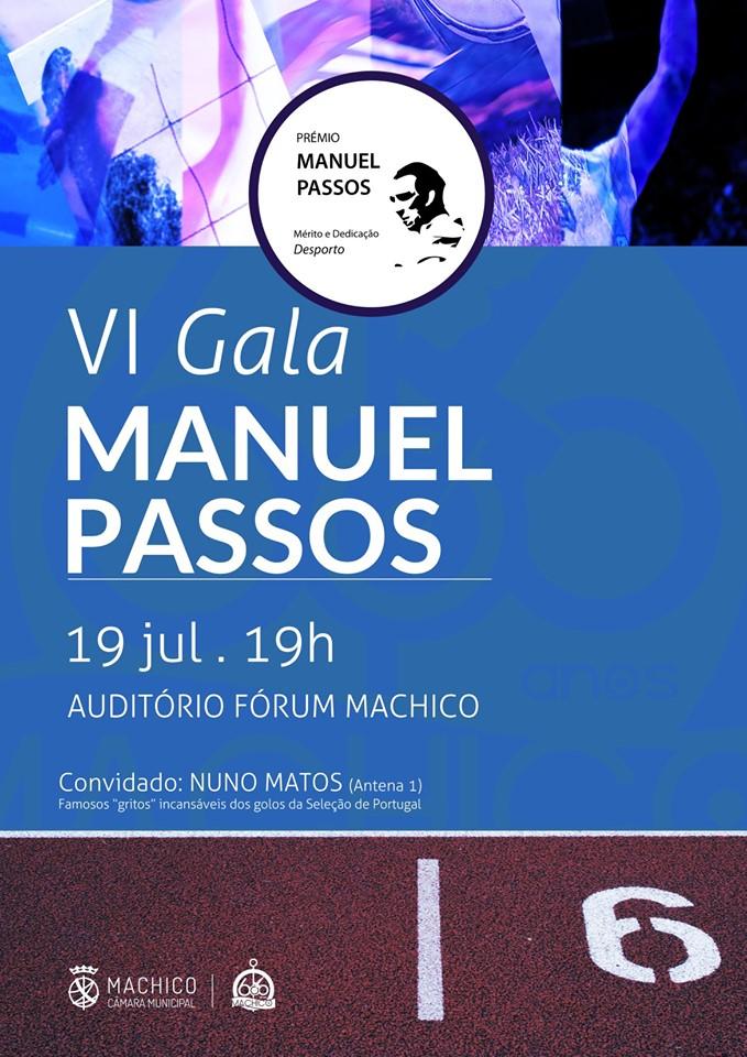 VI Gala Manuel Passos | Prémios de mérito do desporto
