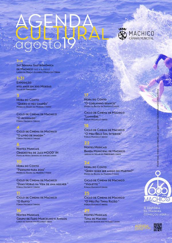 Agenda Cultural de Machico | Agosto